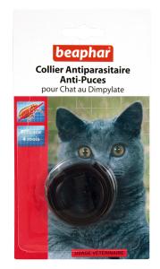 Collier Antiparasitaire chat au Dimpylate