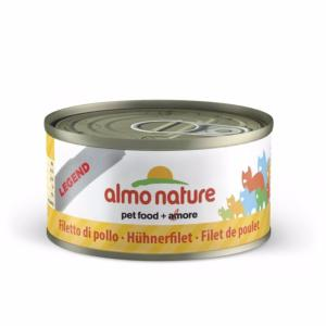 Almo Nature chat boite Filet de Poulet Legend 70 gr