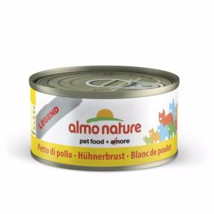 Almo Nature chat boite Blanc de Poulet Legend 70 gr