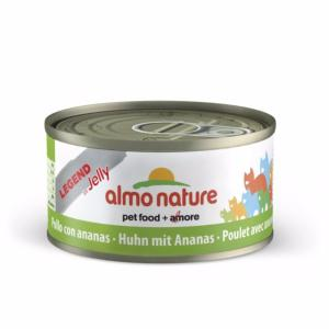 Almo Nature chat Poulet et Ananas Legend in jelly ( gélatine ) 70 gr