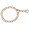 Collier maille ronde 50cm