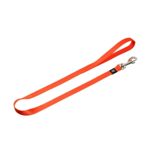 Laisse nylon 15mm 100cm (orange)