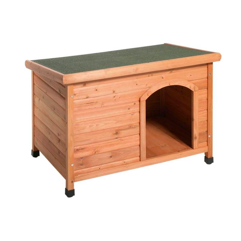 niche en bois avec pente pour chien et chat t1 90 cm x 80 cm x 83 cm. Black Bedroom Furniture Sets. Home Design Ideas